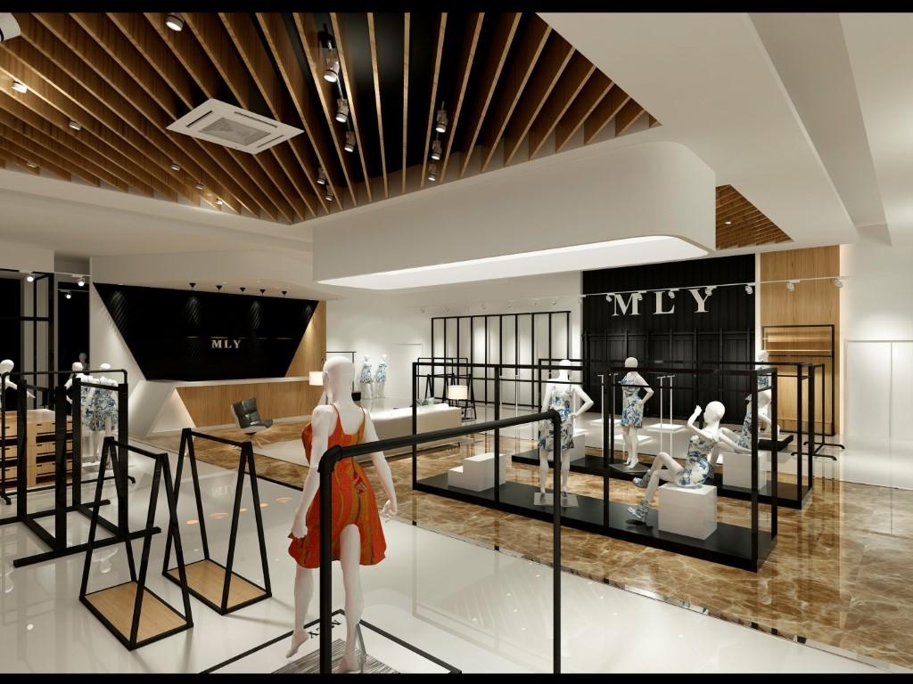 Dise o interior tienda de ropa en valencia mly - Equipamiento comercial valencia ...